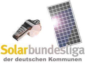   Zur Solarbundesliga der deutschen Kommunen  